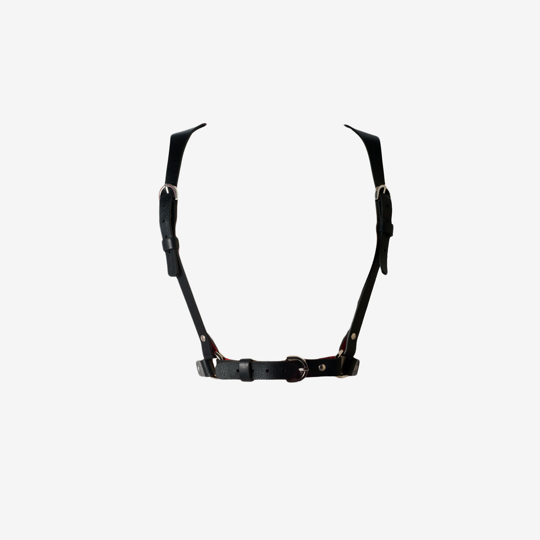 0770 Yolène leather Harness