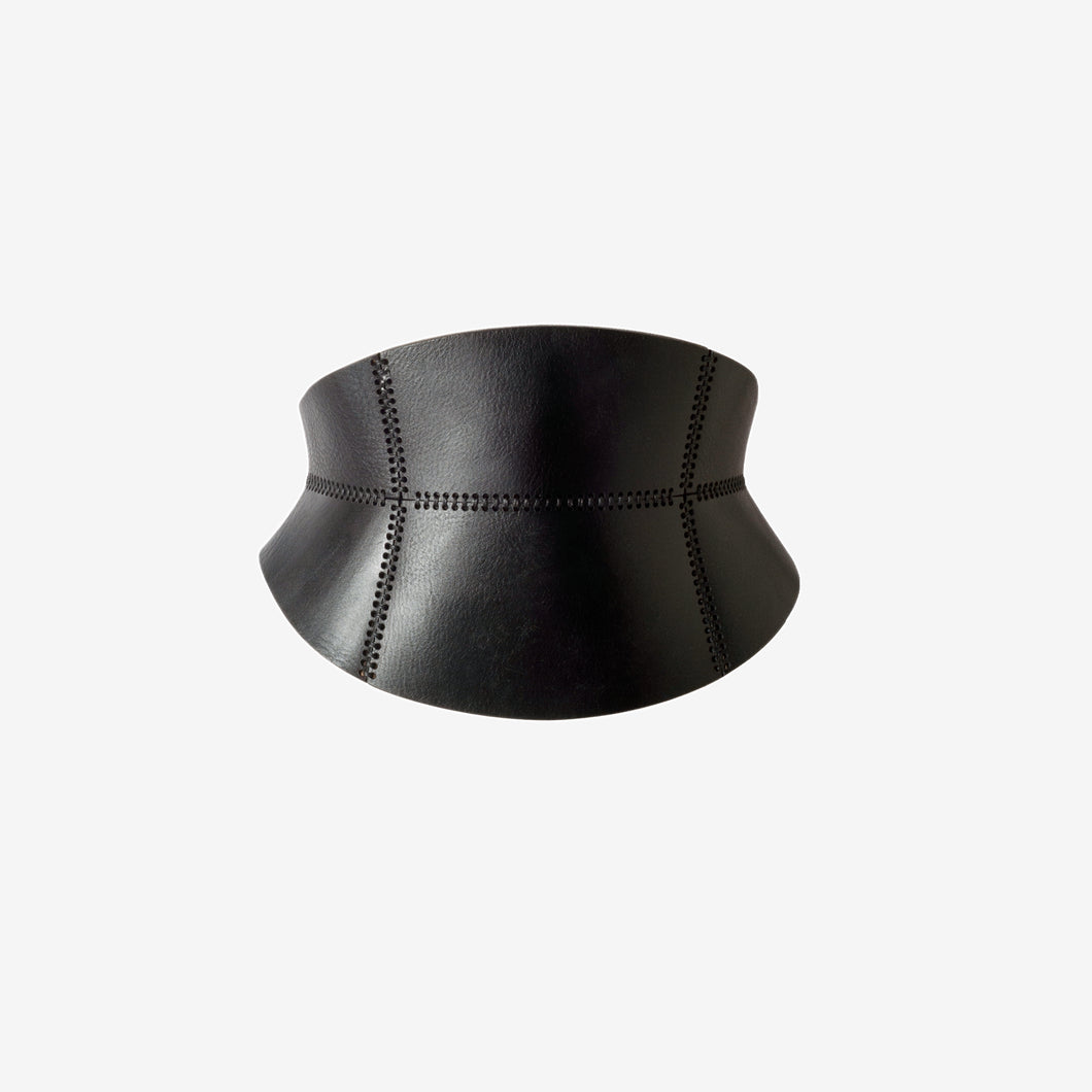 Mélissa leather corset belt