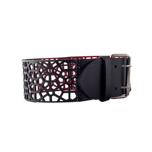 0770 Bibiane leather waist belt