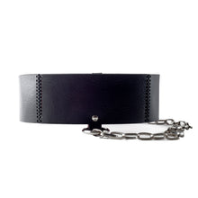 Load image into Gallery viewer, 0770 Gisèle chaine leather belt