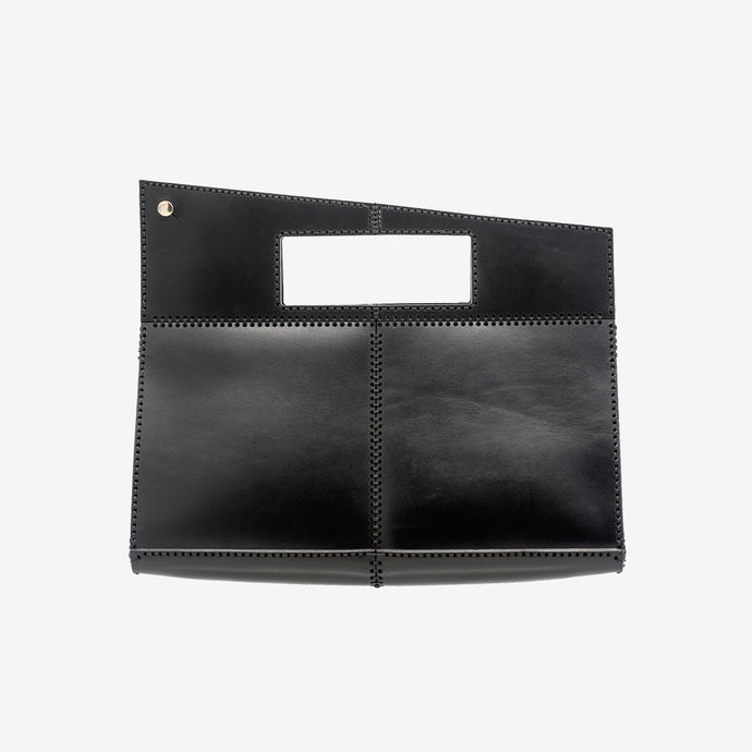 Era top handle leather bag