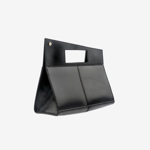 ERA LASER CUT LEATHER TOP HANDLE BAG - 0770shop