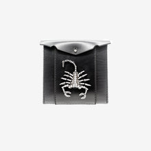 Load image into Gallery viewer, 0770 Nut scorpion leather clutch