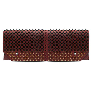 Marjolaine leather clutch
