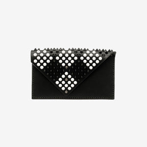 Méloée leather clutch