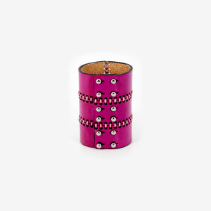 C13SS21 leather cuff