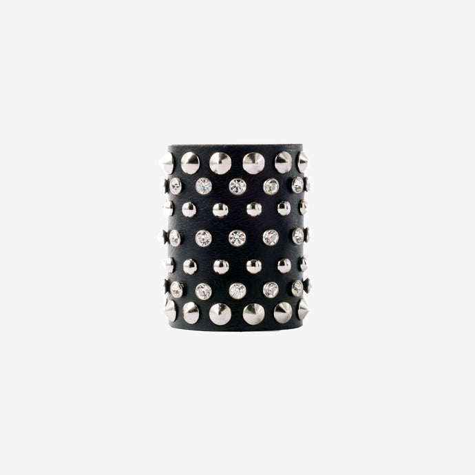 Eugénie leather cuff