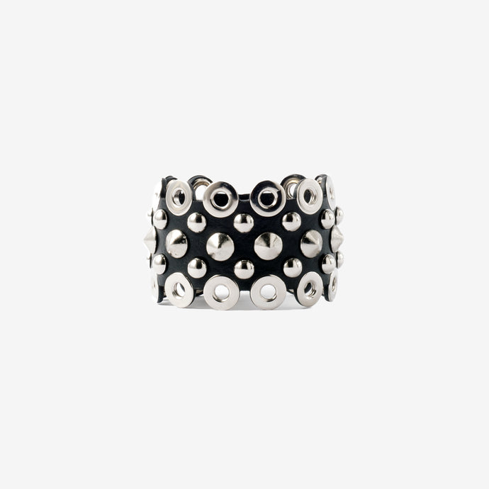 Nathalie leather cuff