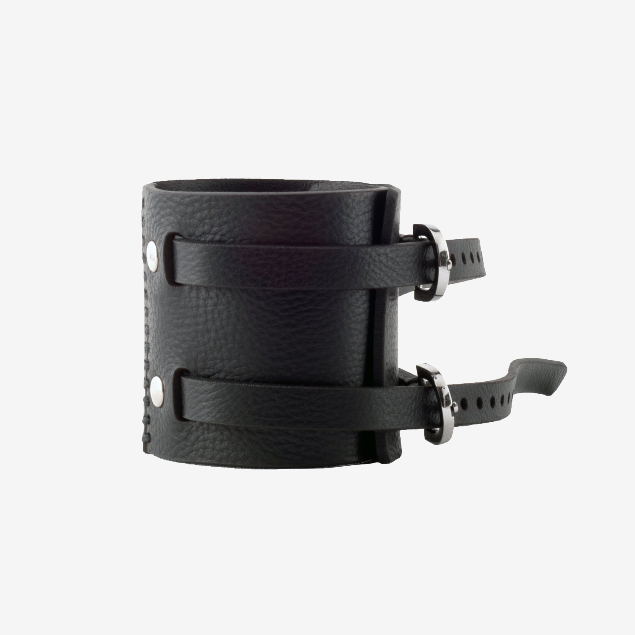 C60 Leather Harm Cuff - 0770shop