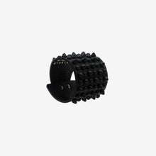 Load image into Gallery viewer, 0770 Bowery black studded leather cuff