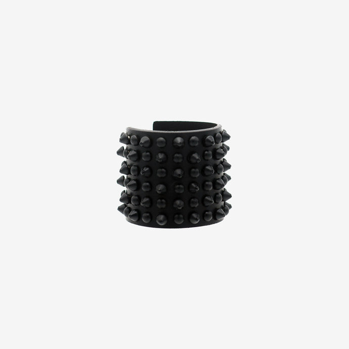 Bowery leather cuff