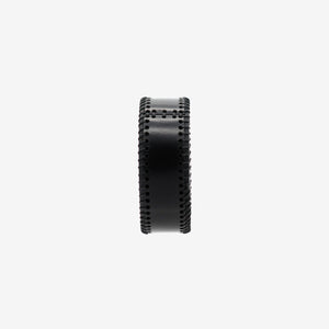 0770 Trivia leather bangle cuff
