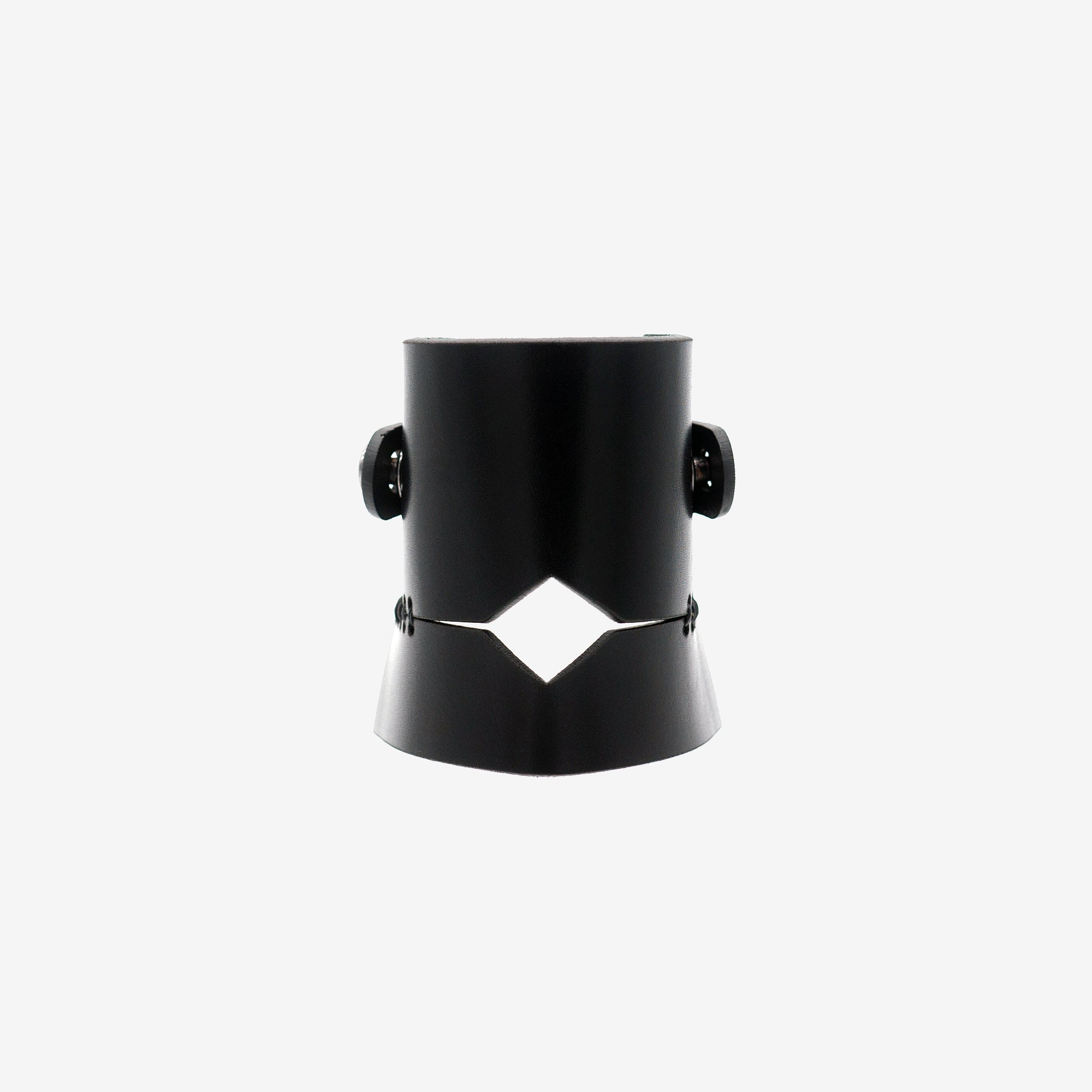 ERIS LASER CUT LEATHER CUFF - 0770shop