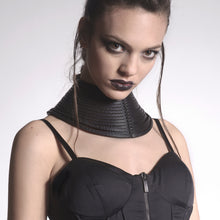 Load image into Gallery viewer, 0770 Simonne leather neckpiece