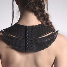 Load image into Gallery viewer, 0770 Lucie leather neckpiece