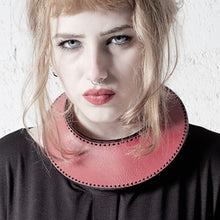 Load image into Gallery viewer, 0770 Ludivine leather neckpiece