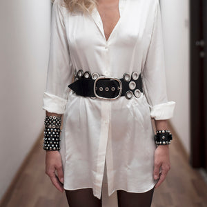 0770 Valérie leather belt