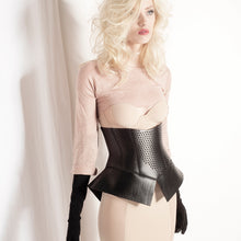 Load image into Gallery viewer, 0770 Pettycoat lasered leather corset