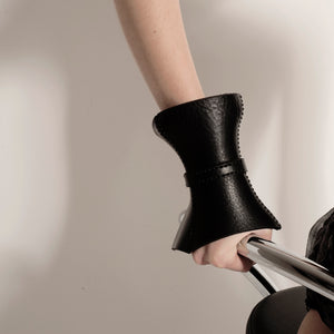 0770 Hoof leather cuff