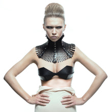 Load image into Gallery viewer, 0770 Joséphine leather neckpiece