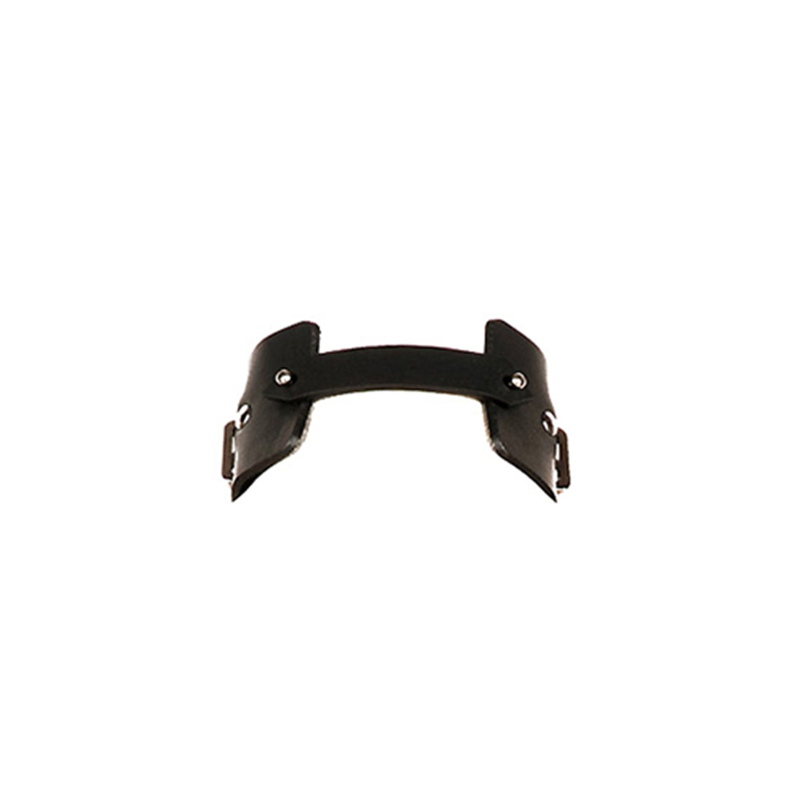 N20 Black leather choker - 0770shop