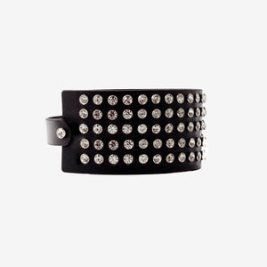 Damienne leather choker