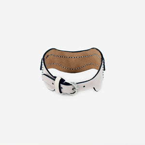 N36 leather choker