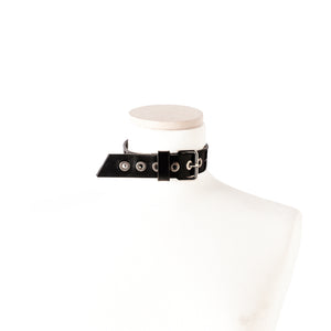 N52 Leather Choker Collar - 0770shop