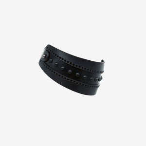 Leto leather choker