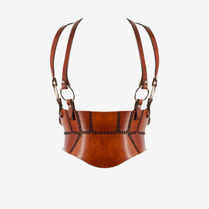 0770 x Nostrasantissima B02 leather corset