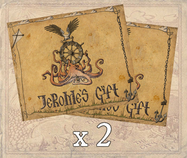 2 x Jerome's Gift Hardcover Book + Audiobook