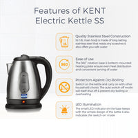 KENT Electric Kettle SS