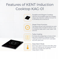 KENT Induction Cooktop KAG-01
