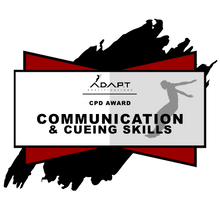 Continued Professional Development Course: Communication and Cueing Skills (North America)