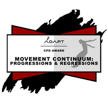 Continued Professional Development Course: Movement Progressions and Regressions (South America)