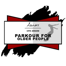Continued Professional Development Course: Parkour for Older People (Australia)