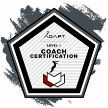 Level 1 Coach Certification (Australia)