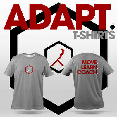 'Move. Learn. Coach.' T-Shirts