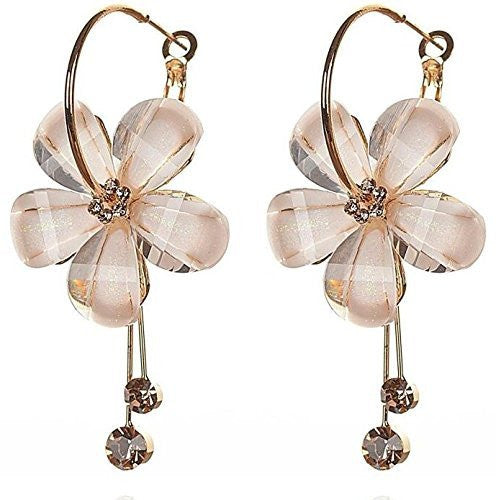 Yutii Gold-Plated Dangle & Drop Earrings For Women