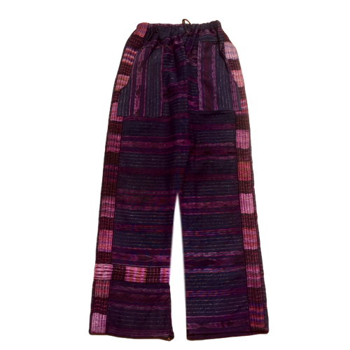 Guatemalan Corte Style Pants - Chichi Purple - Fair Trade Gypsy