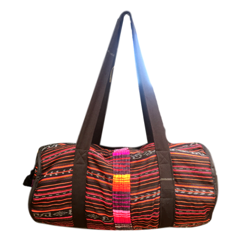 Utz Guatemalan Duffel Bag - Chichi Stripe - Fair Trade Gypsy
