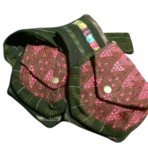 Guatemalan Festival Belt Bag - Lago Rosa - Fair Trade Gypsy