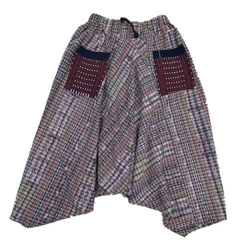 Guatemalan Harem Style Pants - kids size brown - Fair Trade Gypsy