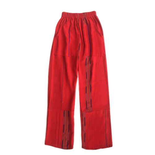 Handmade Guatemalan Pants - Coastal Red - Fair Trade Gypsy