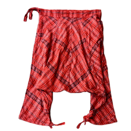 Utz Harem Pants - Red Maya Geometry - Fair Trade Gypsy