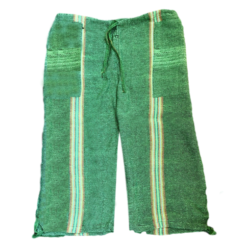 Oaxacan Pescador Board Shorts - Green - Fair Trade Gypsy