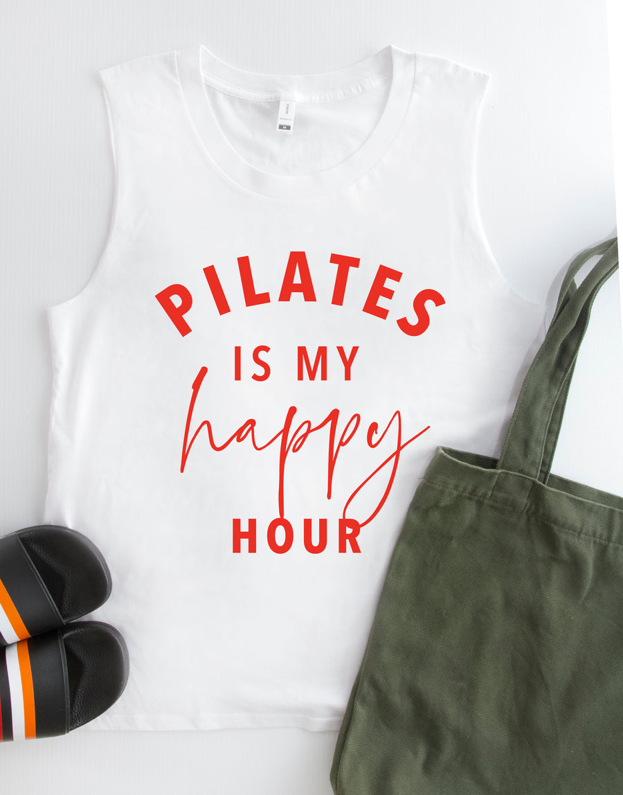 Pilates tank top - White
