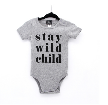 Stay Wild Romper - Baby