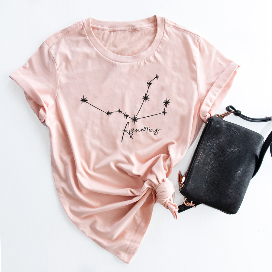 Constellation zodiac ladies t-shirt