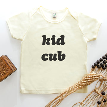 Kid Cub t-shirt - Natural
